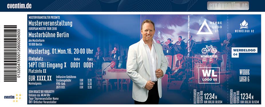Karten für Christian Kaspers & Orchester: Die größten Hits von James Last in Solingen