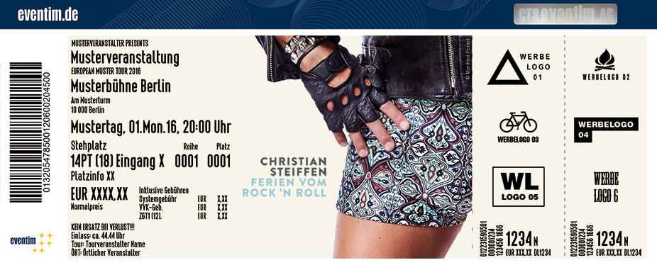 Karten für Christian Steiffen in Cottbus