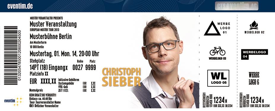 Karten für Christoph Sieber: Hoffnungslos optimistisch in Bonn-Beuel