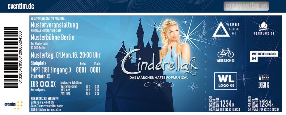 Karten für Cinderella - Das Popmusical in Köln (Deutz)