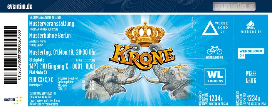Karten für Circus Krone: Evolution in Stendal in Stendal