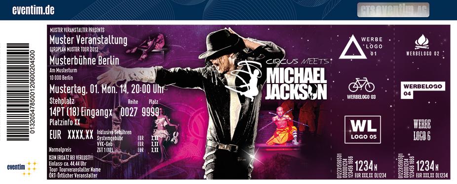 Karten für Circus meets Michael Jackson in Berlin