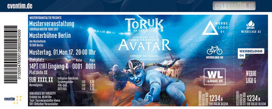 Cirque Du Soleil: Toruk Karten für ihre Events 2018