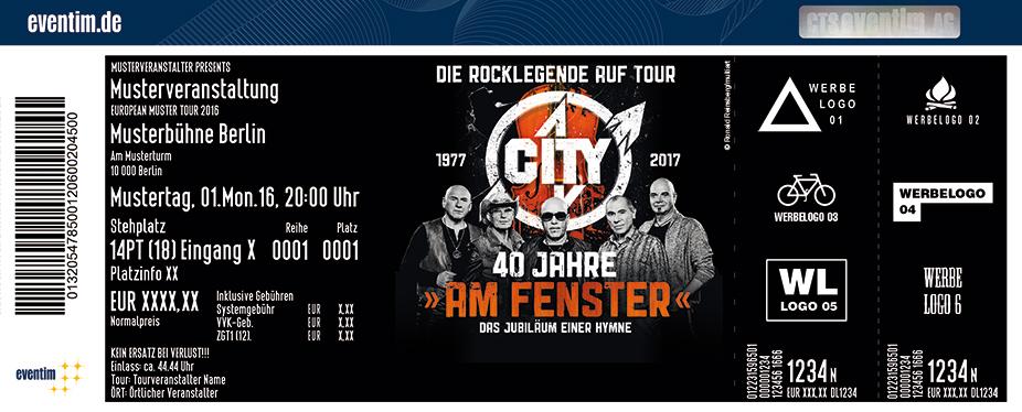 City Karten für ihre Events 2017