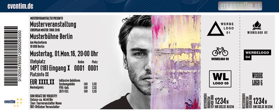 Karten für Clueso: Neuanfang Tour 2017 in Leipzig