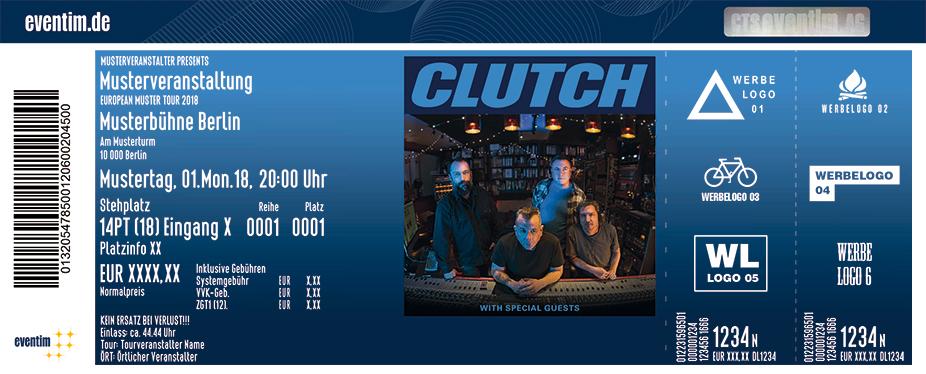 Karten für Clutch in Hamburg