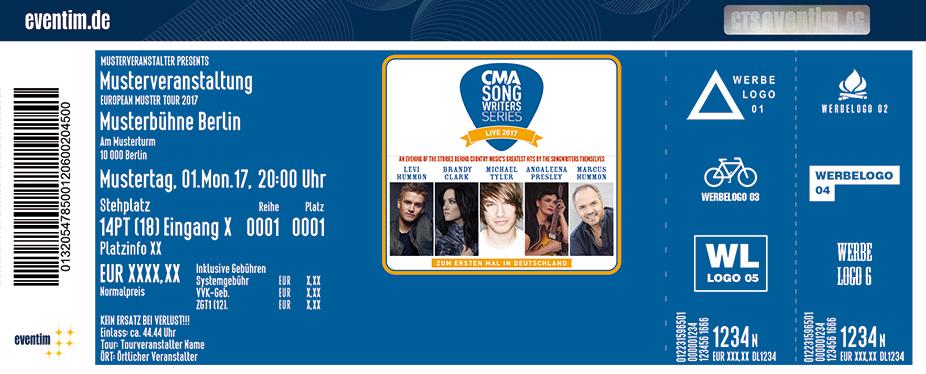 Karten für CMA Songwriter Series in Berlin