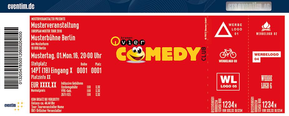 Karten für Comedy Club Bremen in Bremen