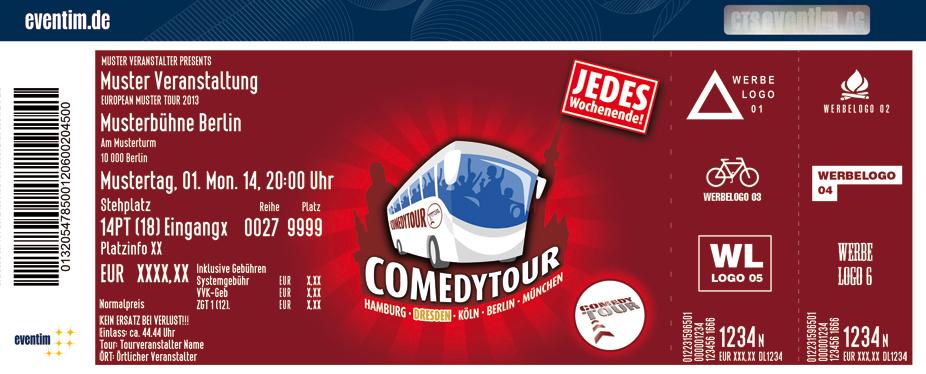 Karten für ComedyTour - Das Original in Dresden in Dresden