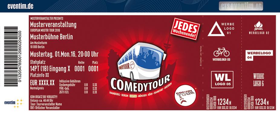 Karten für ComedyTour - Das Original in Leipzig in Leipzig