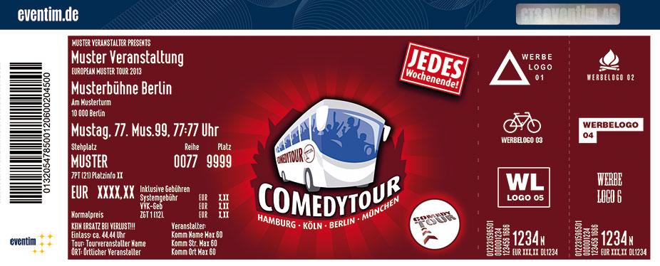 Karten für ComedyTour - Das Original in Berlin in Berlin