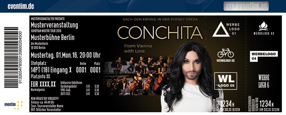 Karten für Conchita in Leipzig