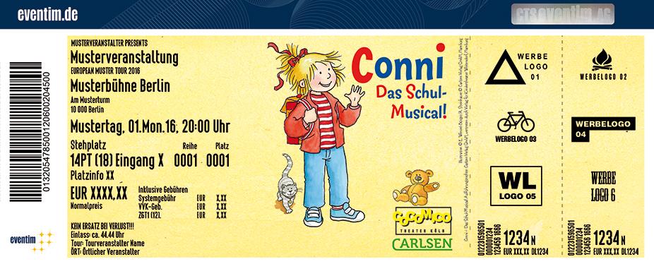 Karten für Conni - Das Schul-Musical in Reutlingen