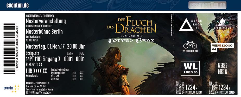 Karten für Der Fluch des Drachen mit Corvus Corax & Gästen in Dresden
