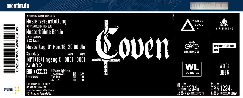 Karten für Coven in Frankfurt Am Main