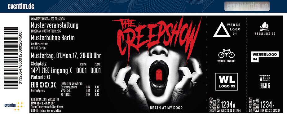 Karten für The Creepshow: Death At My Door - Tour 2018 in Leipzig