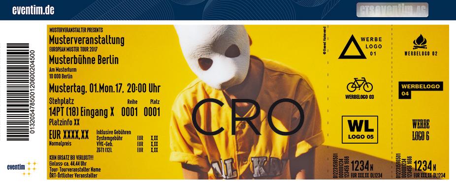 Karten für cro: stay tru. tour 2018 in Wien