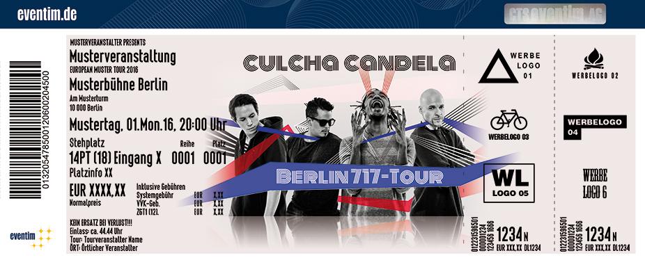 Culcha Candela Karten für ihre Events 2017