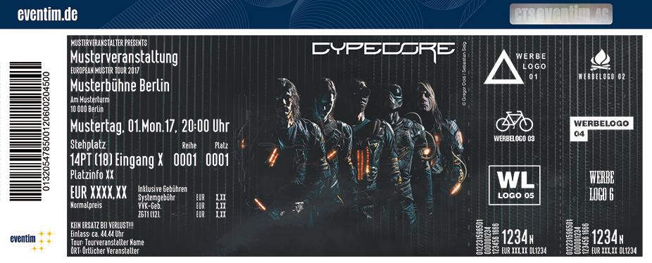 Cypecore Karten für ihre Events 2018