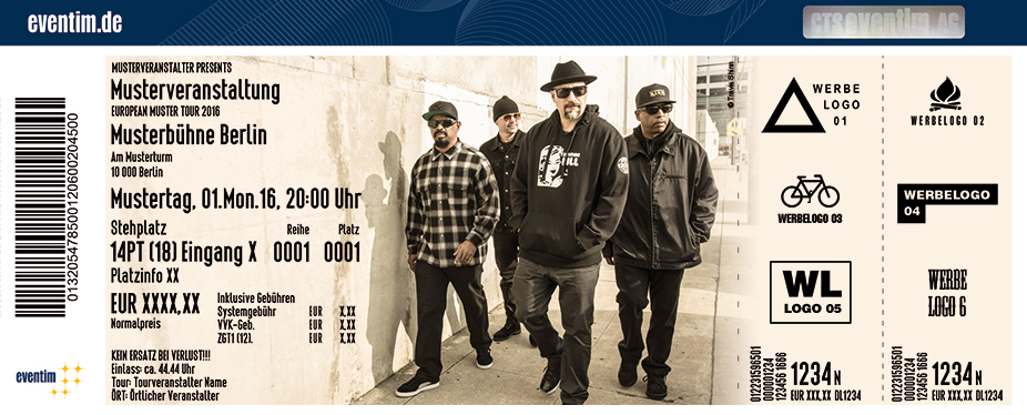 Karten für Cypress Hill - Germany Tour 2017 in Offenbach Am Main