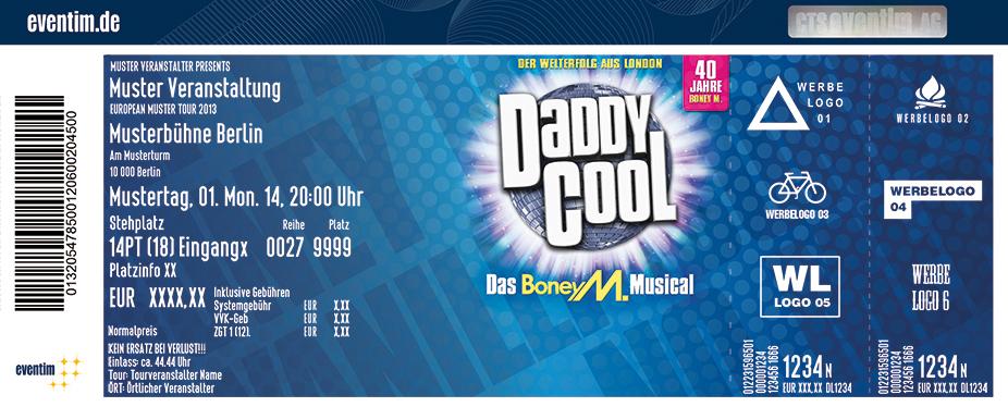 Karten für Daddy Cool - Das Boney M.-Musical in Essen