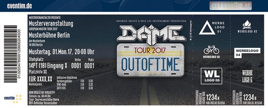 Dame Karten für ihre Events 2017