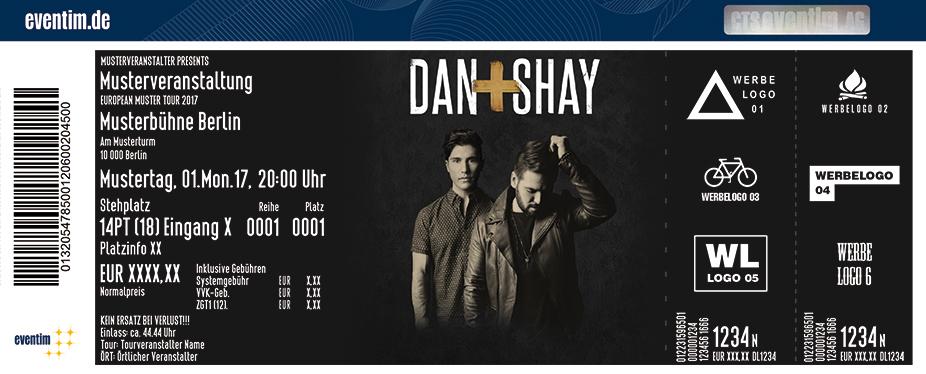 Karten für Dan + Shay in Hamburg