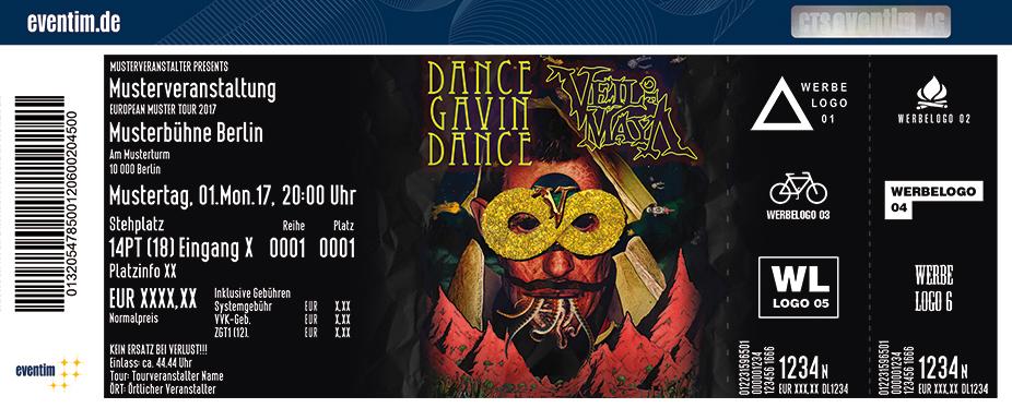 Dance Gavin Dance Karten für ihre Events 2018