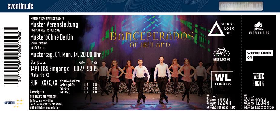 Danceperados Of Ireland Karten für ihre Events 2017