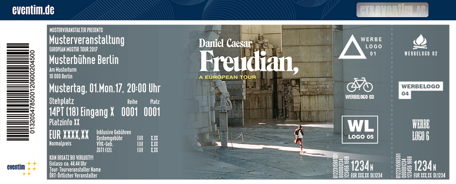 Daniel Caesar Karten für ihre Events 2017