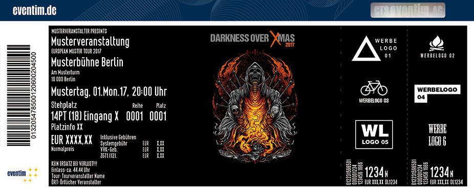 Karten für Darkness Over X-Mas Tour 2017 in Karlsruhe