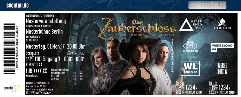 Karten für Das Zauberschloss - Das Musical in Espelkamp