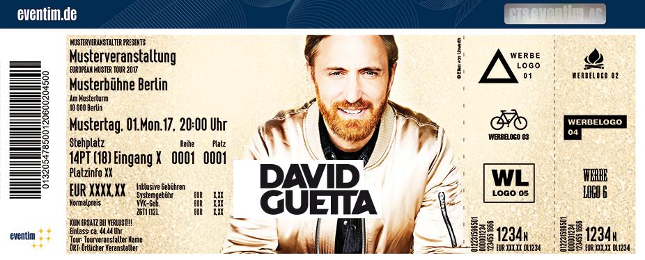 Karten für David Guetta in Linz in Linz