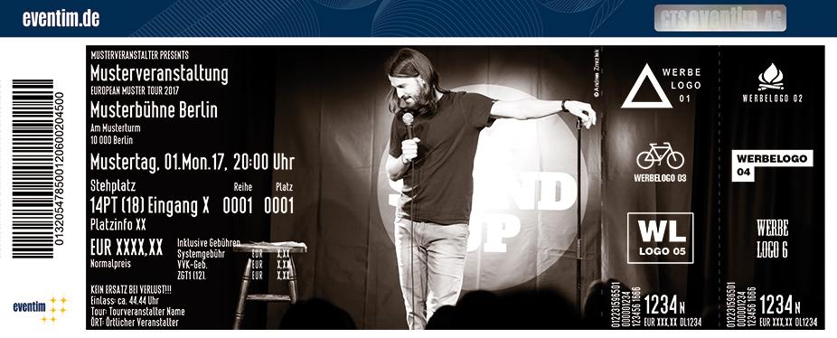Karten für David Kebe in Berlin