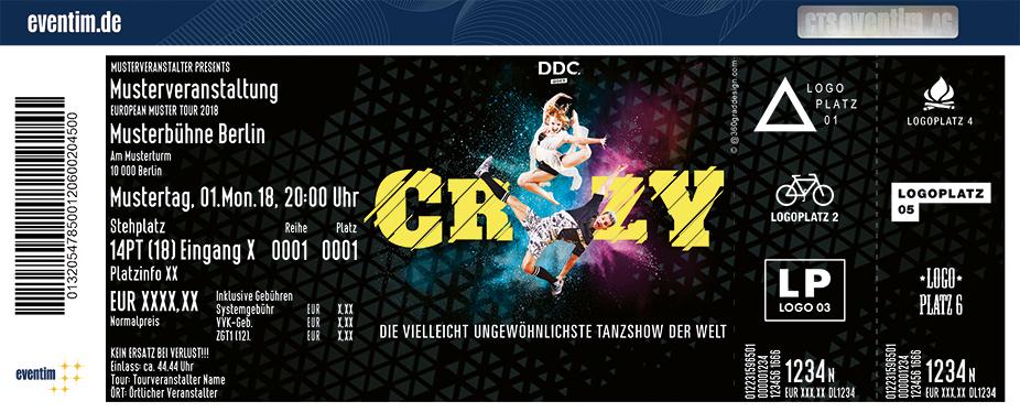 DDC goes CRZY - Die vielleicht ungewöhnlichste Tanzshow der Welt