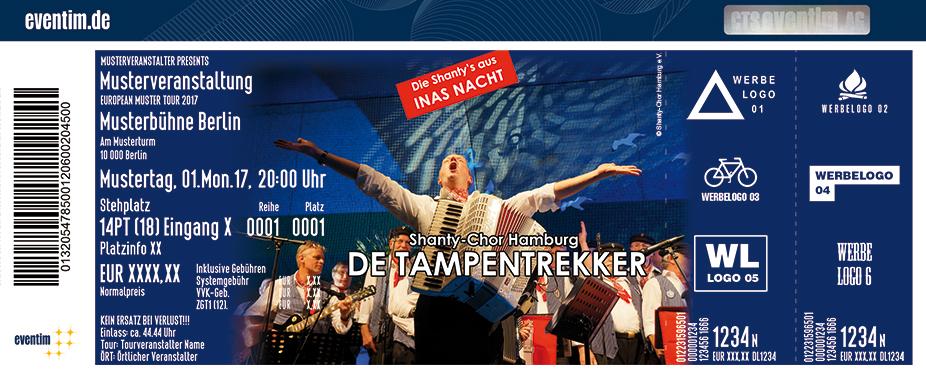 Karten für De Tampentrekker - Shanty-Chor Hamburg in Alsdorf