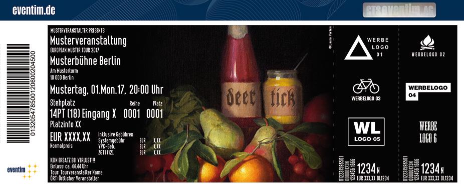 Karten für Deer Tick - An Evening with Deer Tick: Twice Is Nice Tour in Hamburg