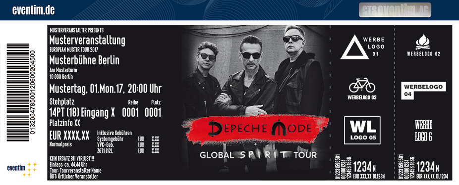 Karten für Depeche Mode: Global Spirit Tour 2017/2018 in Hamburg