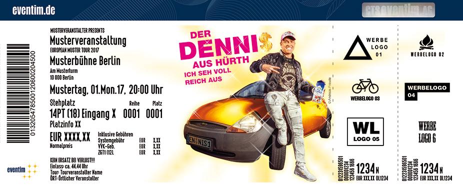 Karten für Der Dennis: Ich seh voll reich aus! in Geldern