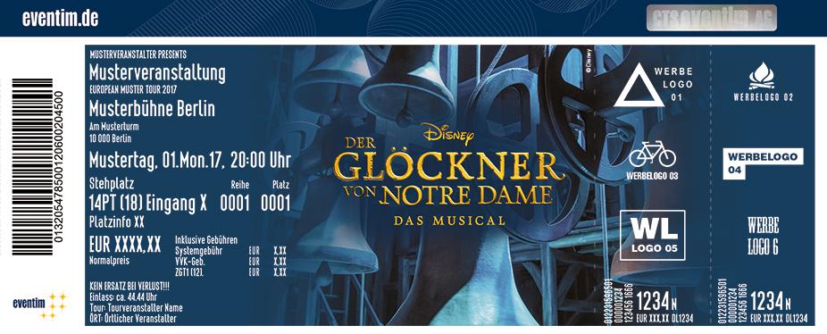 Karten für Disneys DER GLÖCKNER VON NOTRE DAME in Stuttgart in Stuttgart