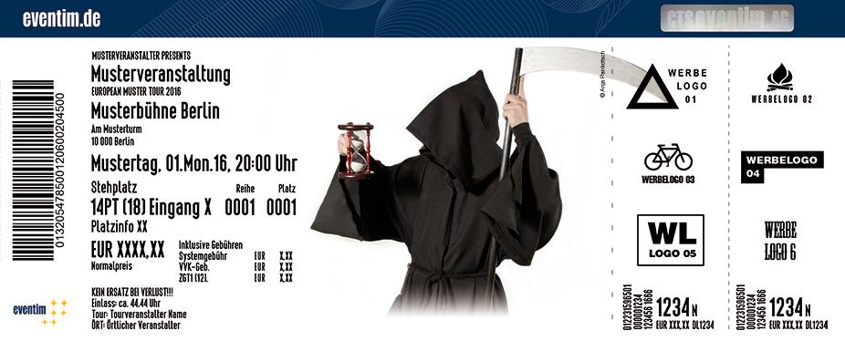 Karten für Der Tod: Happy Endstation - ein Last-Minute-Reiseführer in Magdeburg