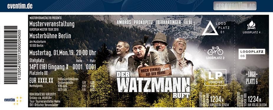 Der Watzmann ruft - Zum allerletzten Mal in Originalbesetzung!