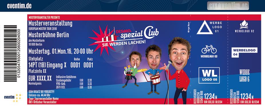Karten für Desimos Spezial Club - Die Mix-Show in Hannover