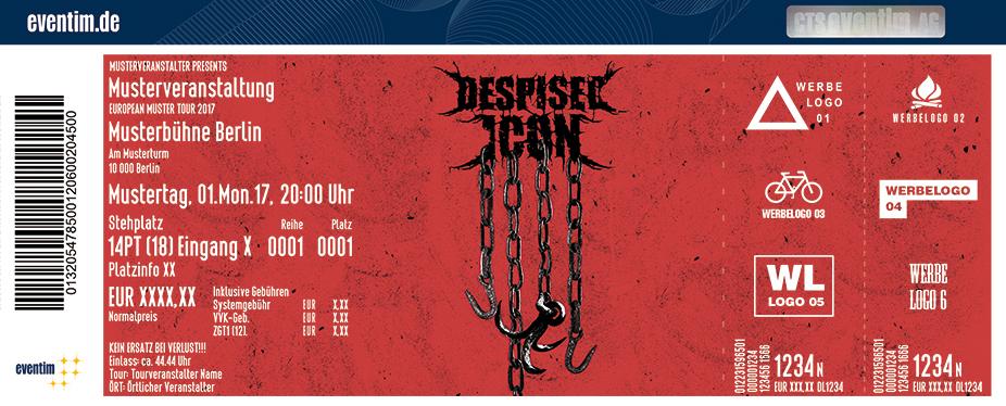 Despised Icon Karten für ihre Events 2018