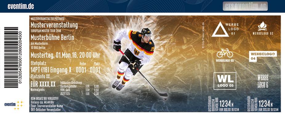 Karten für Eishockey: Deutschland Cup 2017 in Augsburg
