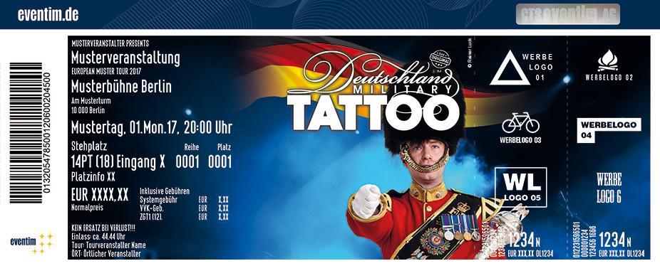 Karten für Deutschland Military Tattoo in St. Goarshausen / Loreley
