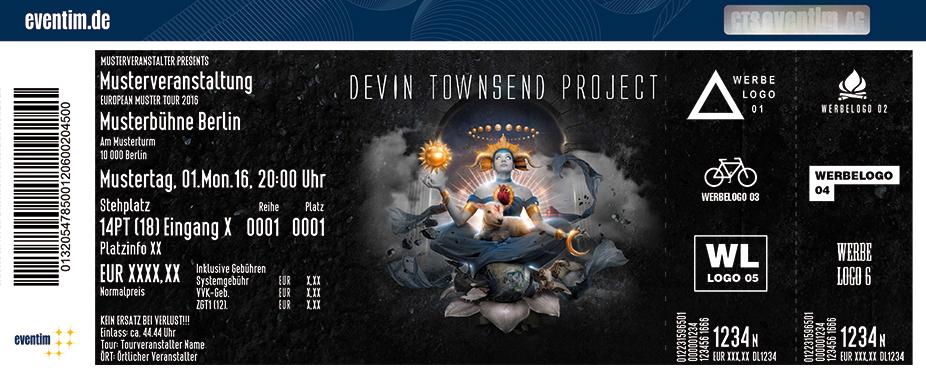 Devin Townsend Karten für ihre Events 2017