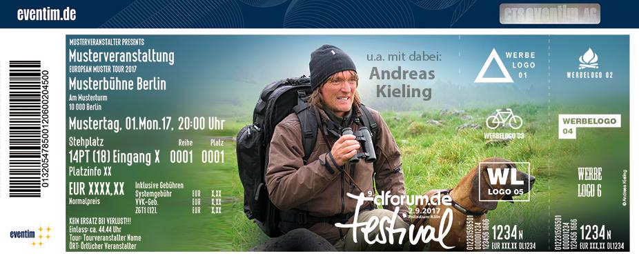 Karten für dforum Festival 2017 mit Andreas Kieling in Köln