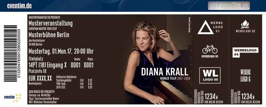 Karten für Diana Krall - World Tour 2017 in Duisburg
