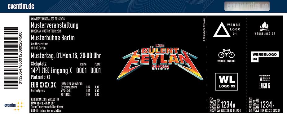 Karten für Die Bülent Ceylan Show in Köln - Ossendorf